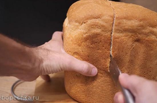 Простой белый хлеб в хлебопечке Panasonic SD-R2530 (+видео)