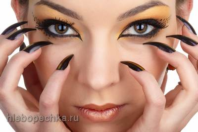 Длинные ногти: красота и здоровье