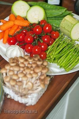 Предварительная обработка овощей, грибов и зернобобовых