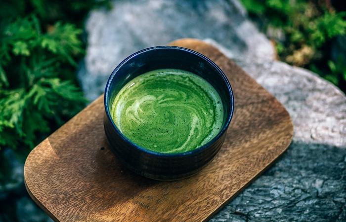 Употребление японский чай Матча уменьшает беспокойство