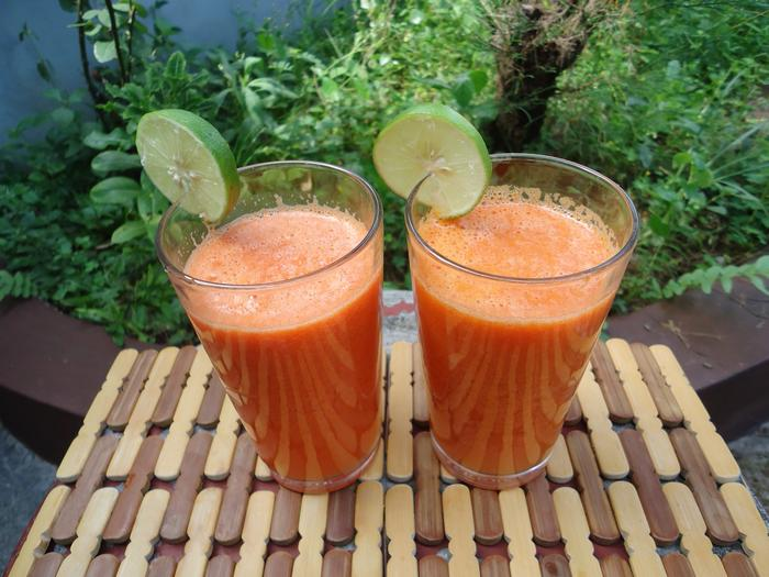 Преимущества употребления морковного сока