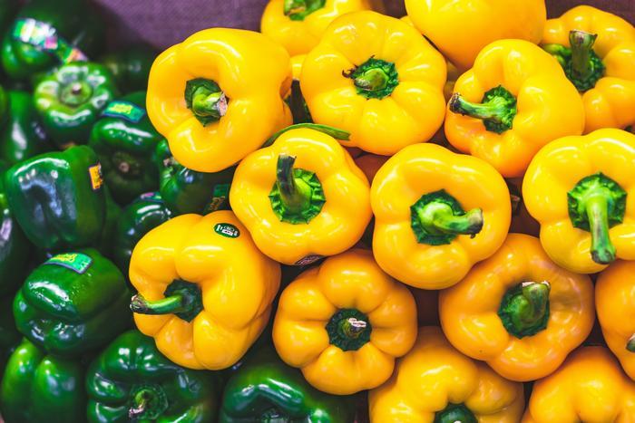 Зелено-желтые овощи