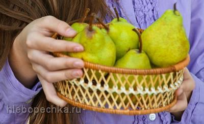 Груша – сочный фрукт для бодрости и здоровья