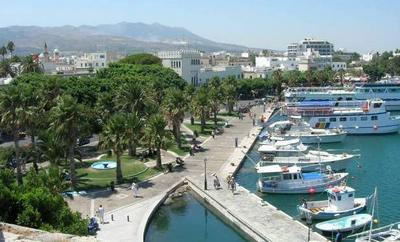 Затерянный в Эгейском море остров Кос
