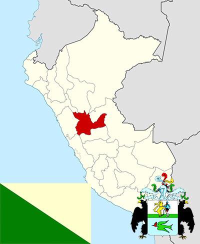 Какой едой известен перуанский регион Уануко?