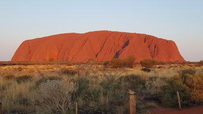 Самая большая скала в мире